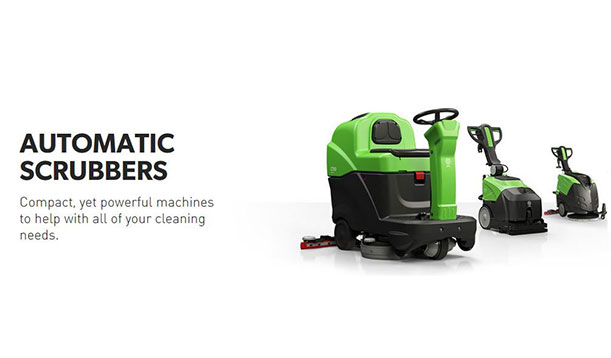 Automatic Scrubbers. Compact, yet powerful machines to help with all of your cleaning needs.