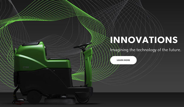 Innovations. Imagining the technology of the future. Learn More.